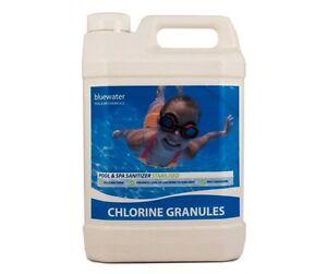5kg Chlorine Granules Swimming Pool Chemicals Spa Ebay