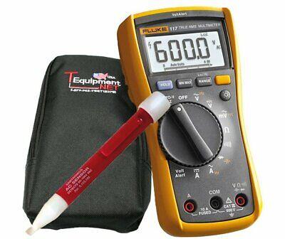 Fluke 117-kit Pen W Case Handheld Multimeter - Type Digital Style Hand-held