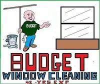 BUDGET WINDOW CLEANING   done right