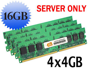 16GB (4x4GB) HP ProLiant DL380 G4 Memory RAM ECC REG