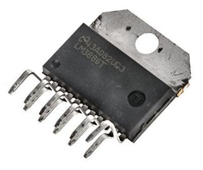 Class AB TO-220-11 Isolated Mono LM3886TF Amplifier IC 1-Channel