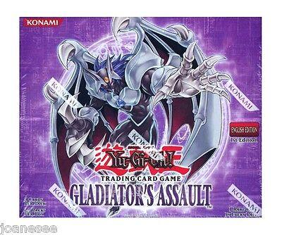 Yu-gi-oh Gladiators Assault GLAS Rares NMint/Mint Single/Playset Take Your Pick  ()