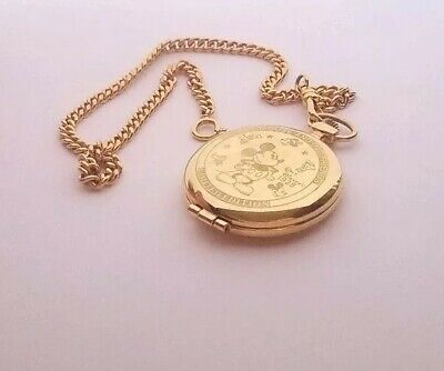 Limited Edition Disney Pulsar V701-0A70 Mickey Mouse and Friends Pocket Watch
