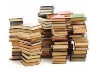 50+ used books by various authors mainly romance