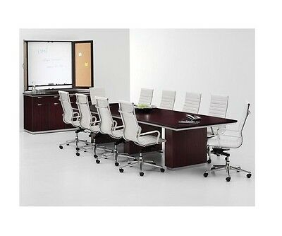 New Pimlico Modern 12 Conferenceboardroommeeting Office Table 12 Chairs Set