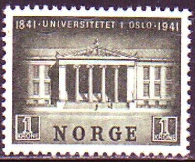 UNUSED SINGLE: NORWAY #246. VF4. NO GUM. SCV $50