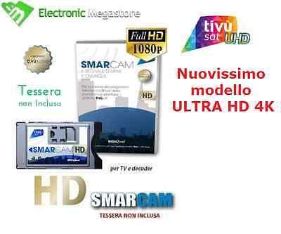 CAM TIVU SAT HD ORIGINALE TIVUSAT TELEVISORE RICEVITORE SMART TV CI CI+ HD 4K