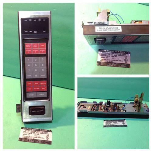 how to set clock sharp inverter microwave