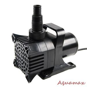 800 gph submersible aquarium fish pond fountain waterfall for Best rated pond pumps