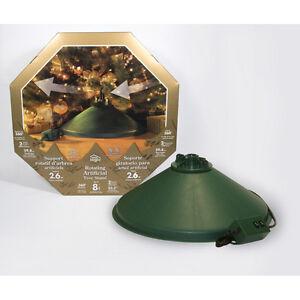 Home Logic Rotating Artificial Christmas Tree Stand ...