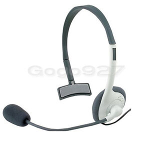 New Live Headset Headphone With MIC For Microsoft Xbox 360 Wireless Controller