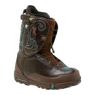 Forum Stampede Womens Snowboard Boots Us Sz 6.5 Cm 23.5 Free Us Ship Snow Board