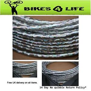 Silver-Lazer-Effect-Cycle-Bike-Brake-Outer-Casing-Gear-Casing-Universal-Cable