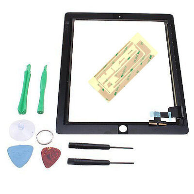 OEM Touch Screen Glass Digitizer Replacement + Adhesive for iPad 2 Black + Tool on Rummage