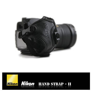 Genuine NIKON Hand Strap Grip II Korea Made for D7000 D90 D300 D3200 AH4 Type