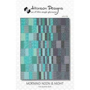 Fabric - Fat Quarter Quilt Pattern...Morning Noon & Night
