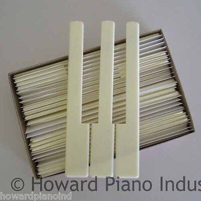Piano Keytops - Simulated Ivory for replacing key top on Rummage