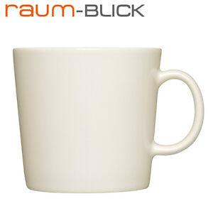 iittala Teema Becher 0,4 l natur weiß Tasse Kaffeetasse Porzellan