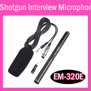 Professional-Shotgun-Interview-Condenser-Uni-Directional-System-Microphone-Mic