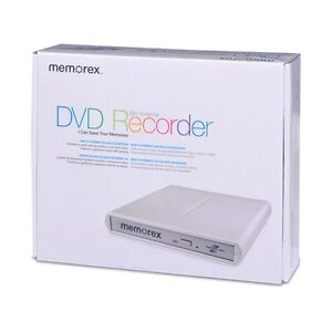 Memorex USB External Slim CD DVD Burner Writer ROM Lightscribe DVDRW for HP PC