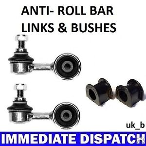 BMW-323-325-E30-Front-Anti-Roll-Bar-Sway-bar-2-x-Bushes-2-x-Links-Rods
