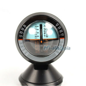 Angle Slope Level Meter Finder Tool Gradient Balancer Car Vehicle Inclinometer