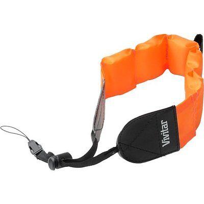Orange Vivitar Floating Foam Strap For Olympus Stylus Tough 6020