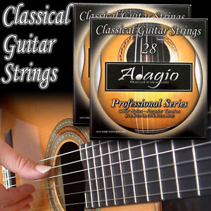 2-SETS-of-Adagio-Pro-Nylon-Classical-Guitar-Strings