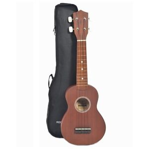 Rocket-US10R-Natural-Soprano-Ukulele-With-Bag