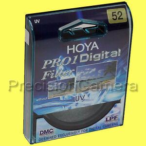 Genuine Hoya 52mm Pro 1 Digital UV Filter Pro1 D Pro1D DMC 52 mm