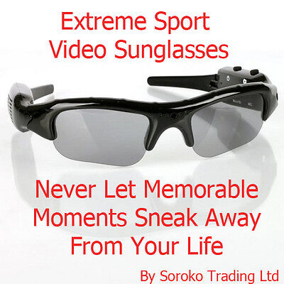 NEW HD SPORT  Sunglasses Sun Glasses DV Spy Camera DVR Video Audio Recorder on Rummage