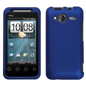 Rubber-Blue-Hard-Case-Snap-on-Cover-HTC-EVO-Shift-4G