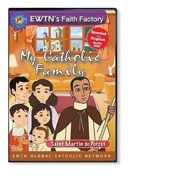 MY CATHOLIC FAMILY EWTN: SAINT MARTIN DE PORRES DVD