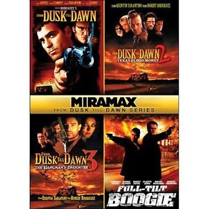 FROM DUSK TILL DAWN 1 2 3 + FULL TILT BOOGIE DVD R1 TRILOGY COLLECTION VAMPIRE