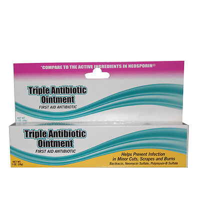 Brand NEW TRIPLE ANTIBIOTIC Ointment ( GENERIC NEOSPORIN) 1 oz Tube