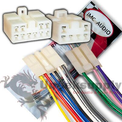 Eclipse 16 Pin Wire Harness Power Plug Cd Mp3 Dvd Hd Tv