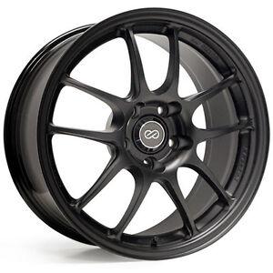 ENKEI-PF01-18x9-Racing-Wheel-Wheels-5x114-3-Offset-45-Matte-Black