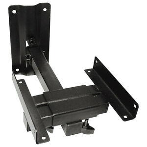 Heavy-Duty-Steel-Large-Bookshelf-Speaker-Side-Clamping-Wall-Mount-Bracket-Black