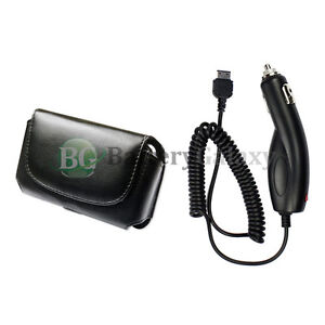 Car Charger Cell Phone +Case for Samsung SGH-a837 Rugby