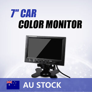 7 inch TFT LCD Car Monitor Screen for Color Reverse Backup Camera CCTV EFM52