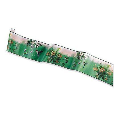 Hautman Brothers Hummingbird Classic Bath Wallpaper Border Green Birds Decor