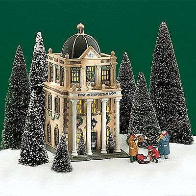 First Metropolitan Bank  58823 Dept 56 Retired Christmas In The City