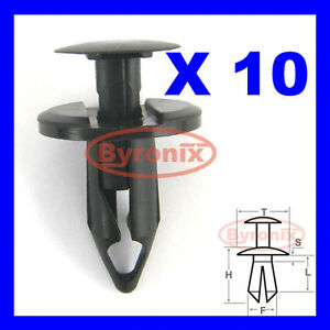 ATV TRIM CLIPS HONDA TRX 650 680 500 450 400 350 300 250 Push Rivet Fastener