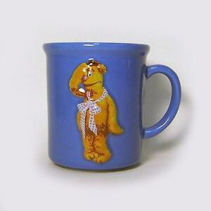 Fozzie-Bear-Sculpted-Ceramic-Mug-Muppets