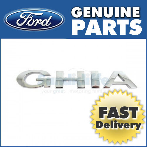 Ford Focus Ghia Badge  (2008 >) 1495073