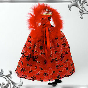 BARBIE-FR-Long-Red-Dress-Outtfit