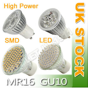 6-X-GU10-MR16-21-48-60-80-3W-4W-SMD-LED-Day-Warm-White-Light-Bulb-Energy-Saving