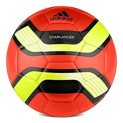 Adidas Starlancer 3rd Edt 2012 Soccer Ball Brand Orange / Yellow / Black