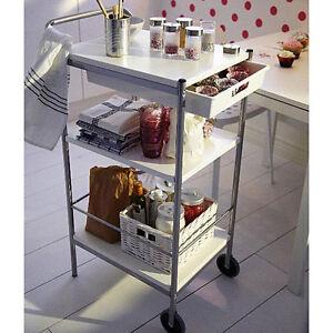 Kitchen Utility Cart Ebay