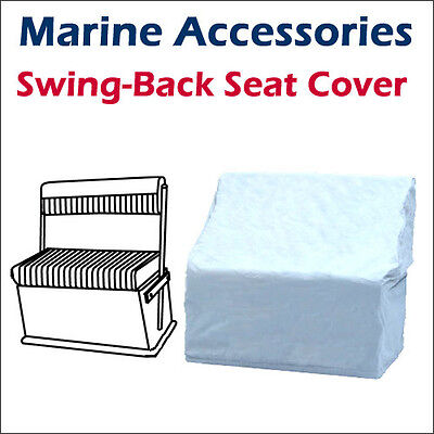 "All Season Pontoon boat Waterproof Swing-Back Seat Cover 20""Dx 36""W x 36""H Grey"